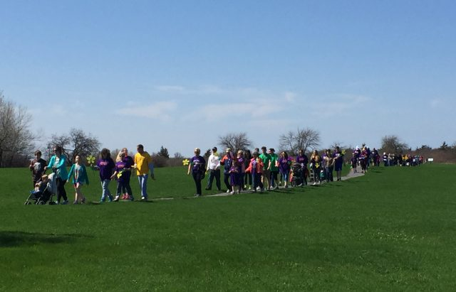 Community comes out to support Walk for Alzheimer's