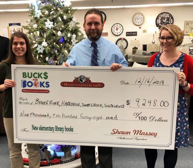 Books Initiative Raises 9 248, Masseys Furniture Barn