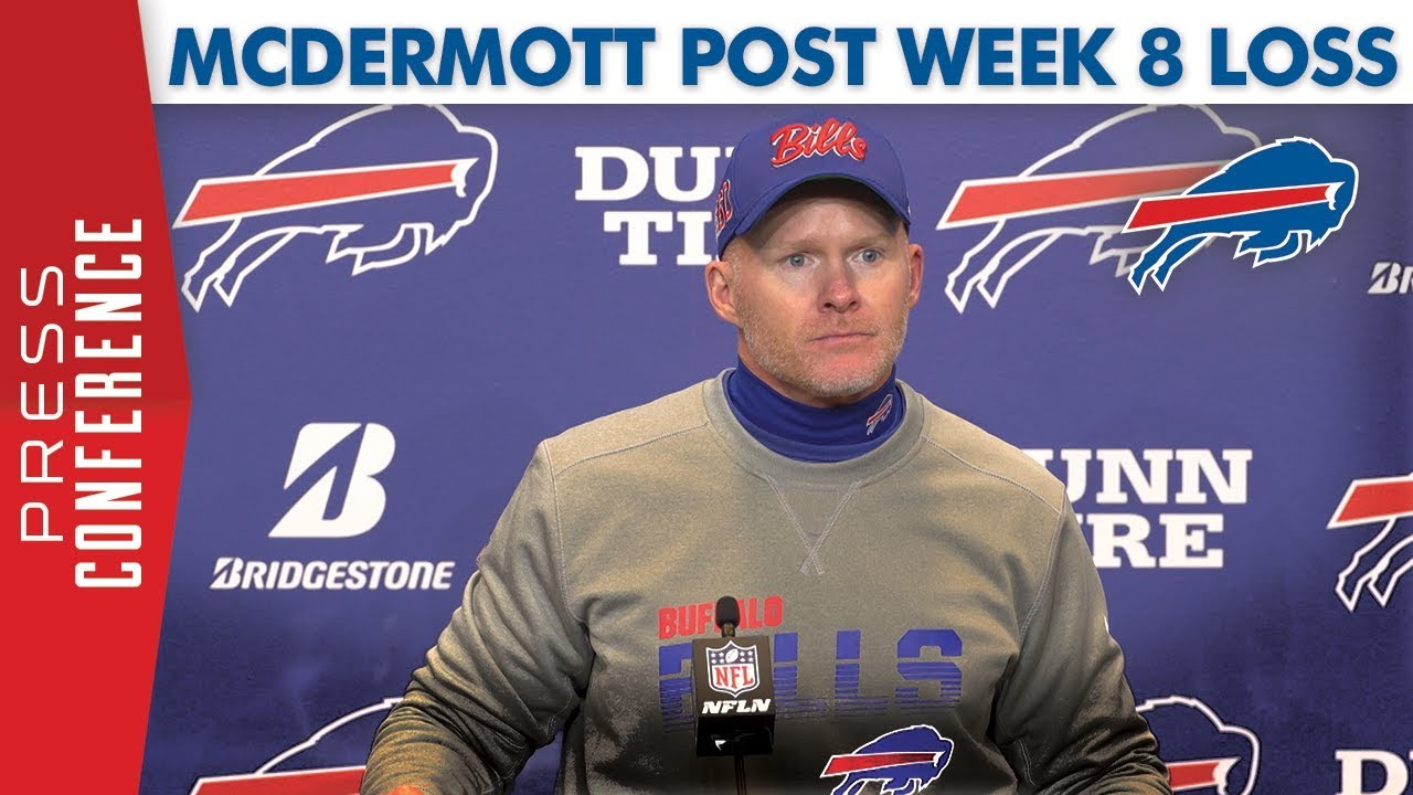 Watch: Sean McDermott reacts to the Bills' loss to Eagles ...