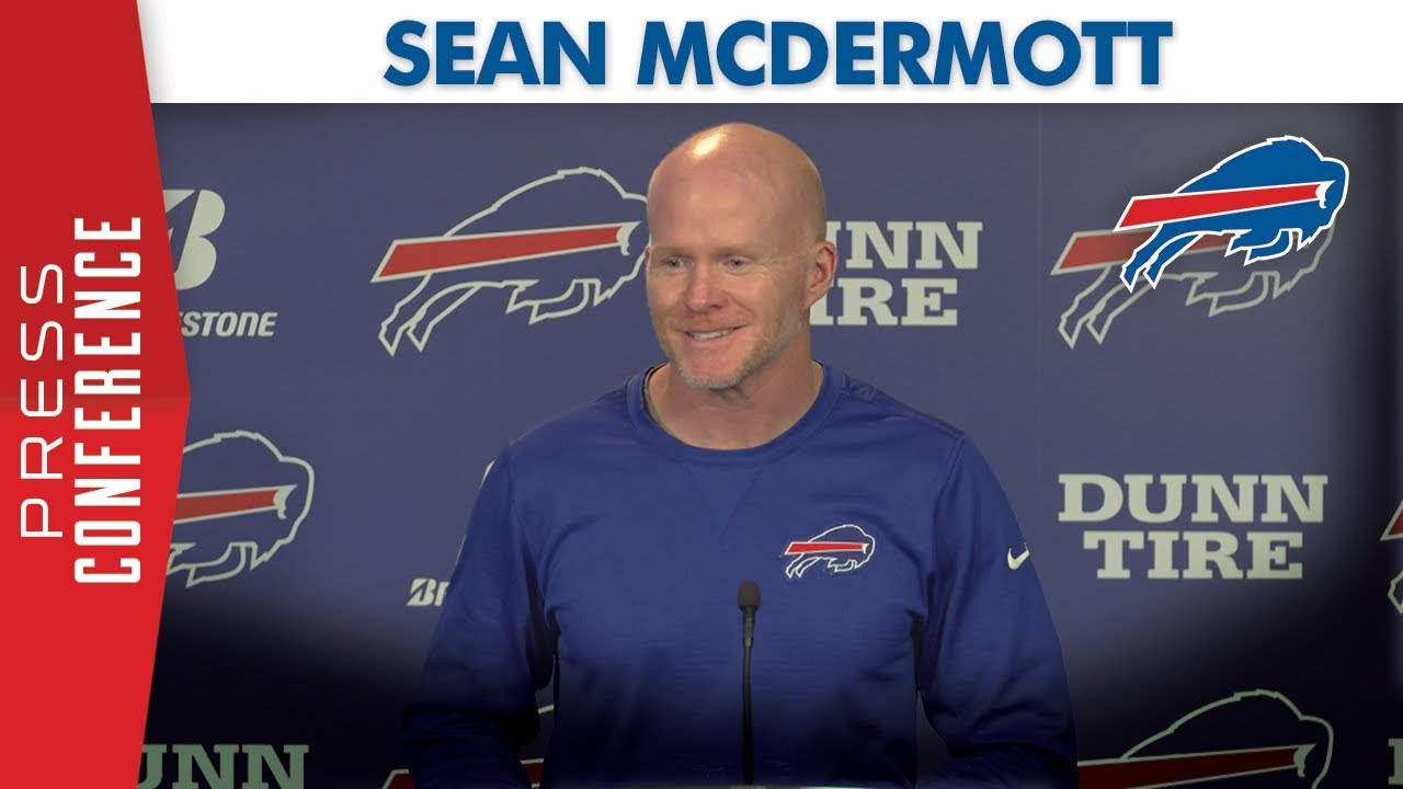 "Sean McDermott: ""We've got a great opportunity this ..."