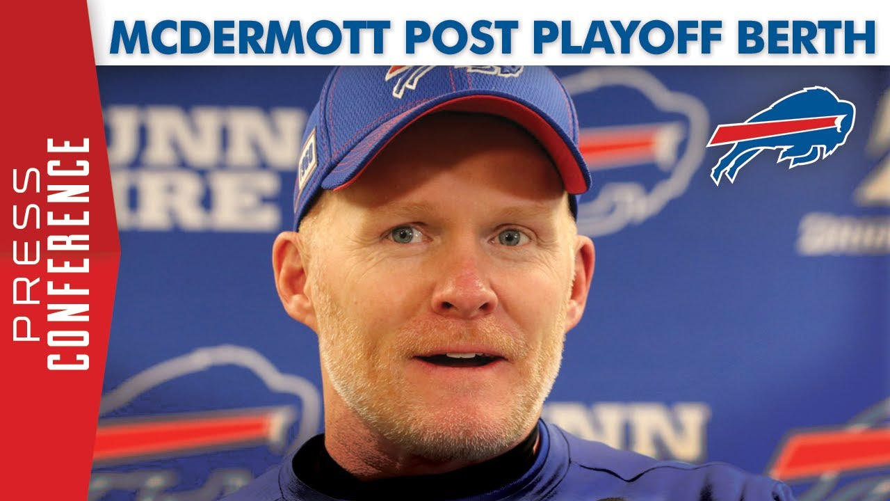 Watch: Bills Coach Sean McDermott | Newzjunky